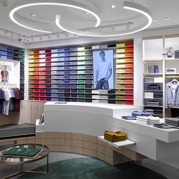 magasin mode femme et homme lacoste beaugrenelle