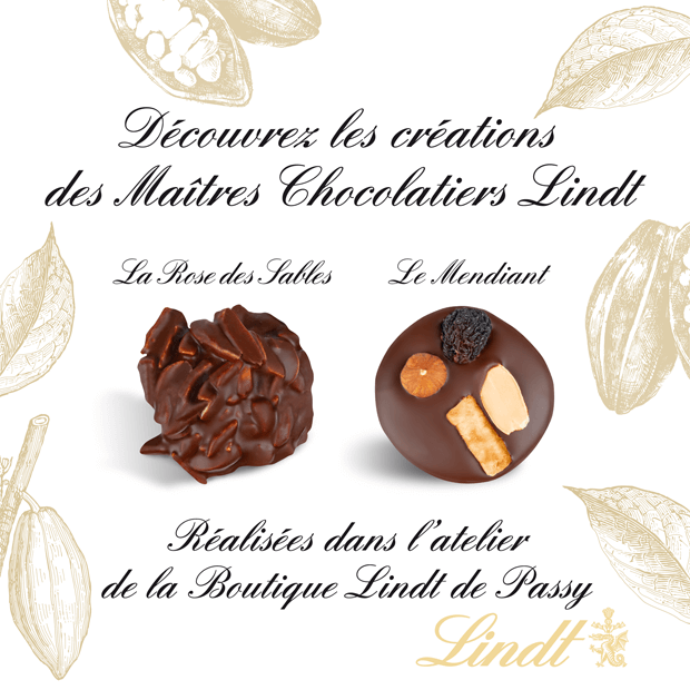 pop up store lindt centre commercial beaugrenelle
